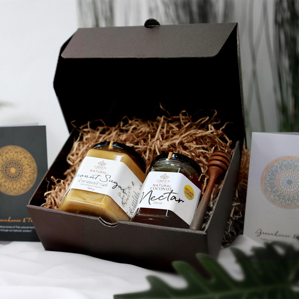 Organic Coconut Sugar & Nectar Set