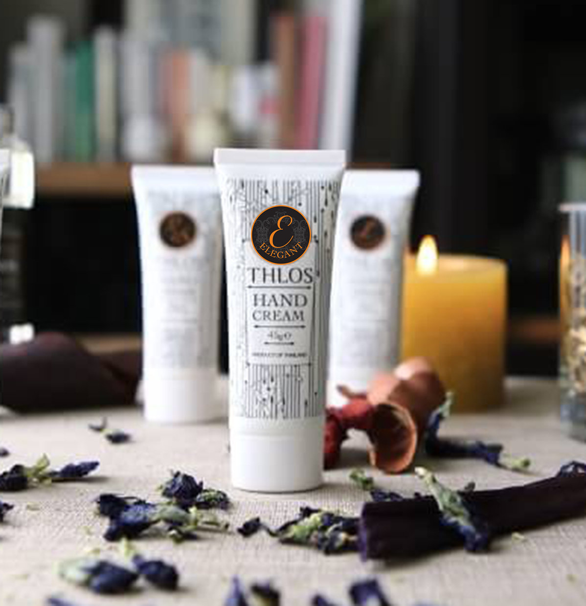 Elegant Hand Cream : ครีมทามือกลิ่นแอลลาแกน