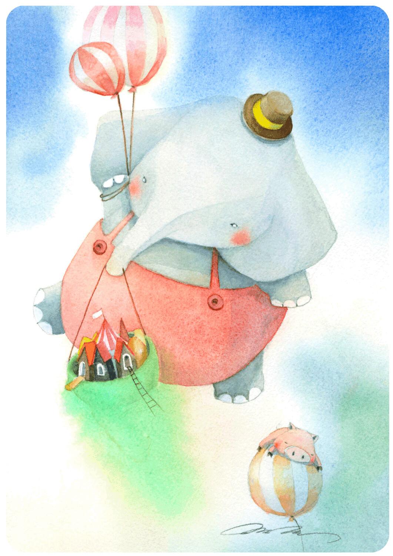 Elephant and Pig