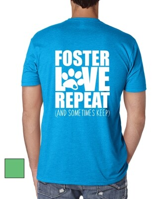 Foster, Love, Repeat Tee