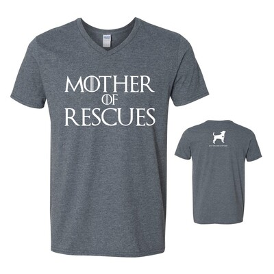 Mother of Rescues Tee, Grey