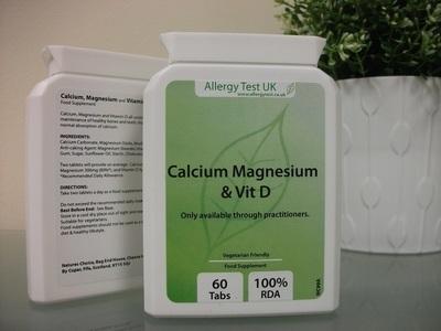 Calcium, Magnesium & Vit D