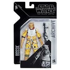 BOSSK ARCHIVE BLACK SERIES 6""