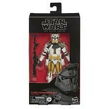 COMMANDER BLY BLACK SERIES 6""