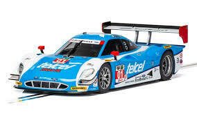 Scalextric C3948 Ford Daytona Prototype Sebring Ganassi Racing Telcel Ford, DPR, 1/32 Scale w/Lights
