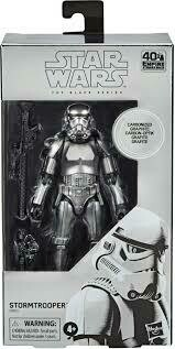 The Black Series Carbonized Collection Stormtrooper - Metallic