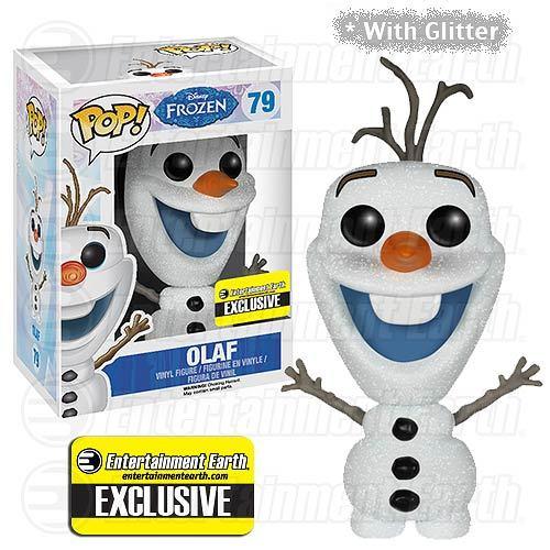 Disney Frozen Glitter Olaf the Snowman Pop! Vinyl Figure