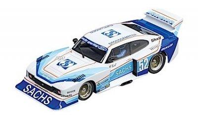 """Carrera 30831 Ford Capri Zakspeed Turbo """"Sachs Sporting, No. 52"""", Digital 132 w/Lights"""