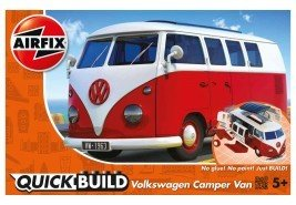AIRFIX VOLKWAGEN CAMPER VAN RED AND WHITE