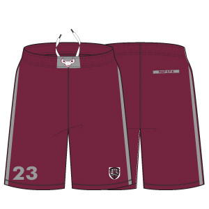 St. Joe's Prep Athletic Short: Maroon- Click to Order