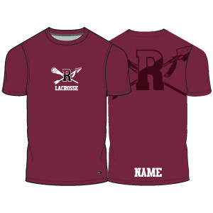 Radnor Lacrosse Shooter Shirt- Maroon- Click to Order