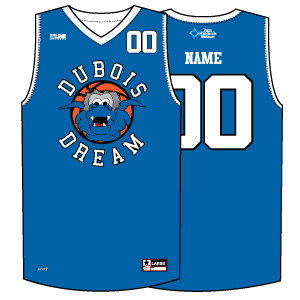 DuBois Dream Custom Dreamy Game Jersey