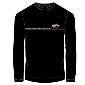 Sunny Lacrosse Lightweight Long Sleeve- Black