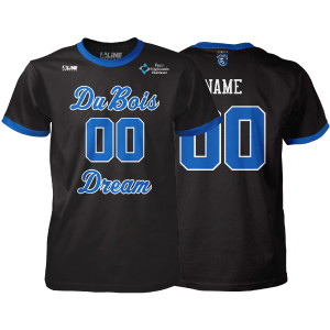DuBois Dream Custom Fan Jersey T-Shirt