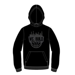 We Build Logo Hoodie- Black