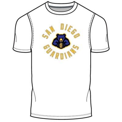 San Diego Guardians Men's T-Shirt- White