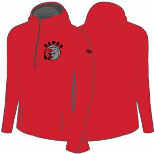 Haddon TWP 1/2 Zip  Warm Up Jacket