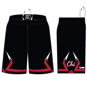 Chi Basketball Game Short w/ Pockets