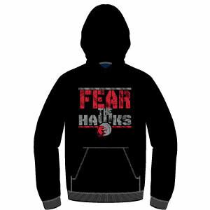 Haddon TWP Fear Hoodie- Black