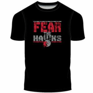 Haddon TWP Fear Men's T-Shirt: Black