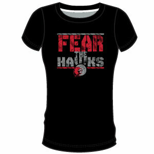 Haddon TWP Fear Women's T-Shirt: Black
