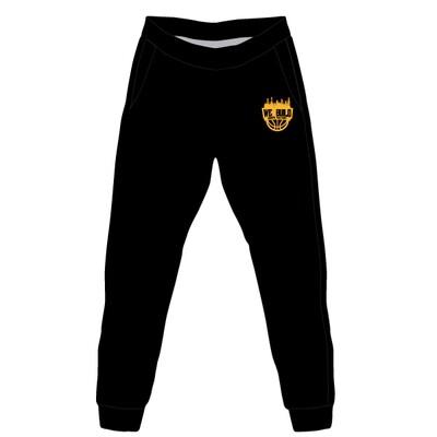We Build Jogger Pants- Black