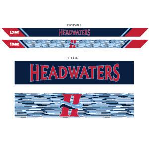 Headwaters Reversible Tie Back Headband