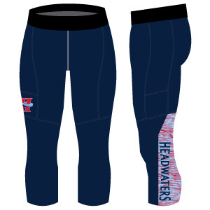 Headwaters Unisex 3/4 Compression Pant