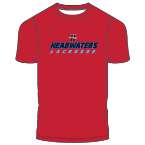 Headwaters Men's T-Shirt- Red