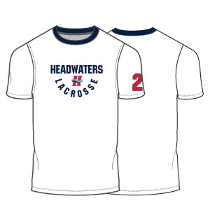 Headwaters Boys Optional Shooter Shirt- White