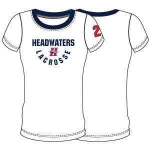 Headwaters Girls Optional Shooter Shirt- White