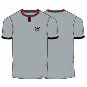 Radnor Lacrosse Tab Tee- Grey- Click to Order