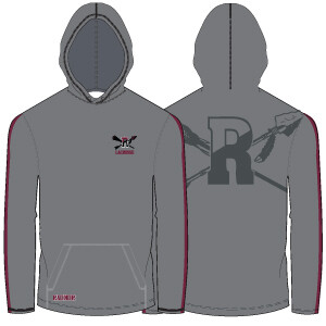 Radnor Lacrosse Lightweight Hoodie: Charcoal- Click to Order