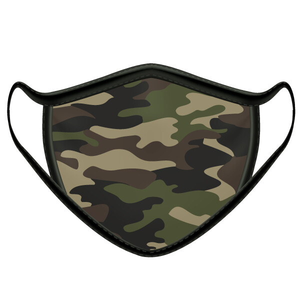 Camo Face Mask- Youth Size Only