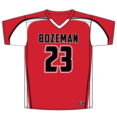 Bozeman Replacement Jersey: Red