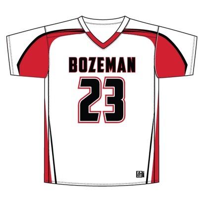 Bozeman Replacement Jersey: White