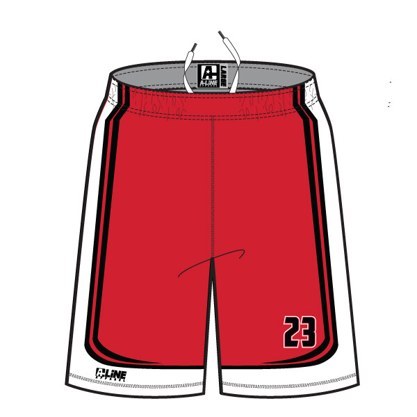 Bozeman Replacement Shorts: Red