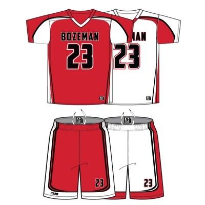 Bozeman Lacrosse Uniform