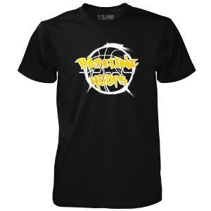 Baseline Hoops Black T-Shirt