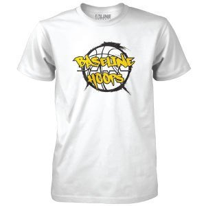 Baseline Hoops White T-Shirt