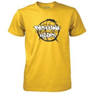 Baseline Hoops Yellow T-Shirt