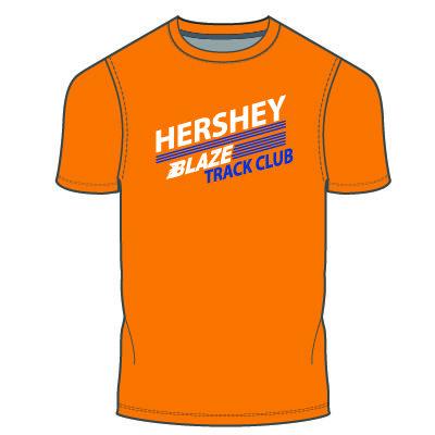 Hershey Blaze T-Shirt: Orange