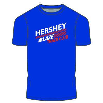 Hershey Blaze T-Shirt: Royal Blue