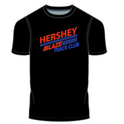 Hershey Blaze T-Shirt: Black