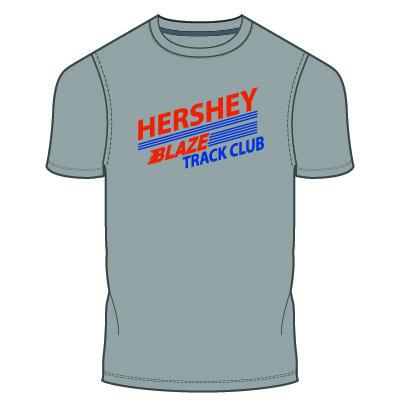 Hershey Blaze T-Shirt: Heather Grey