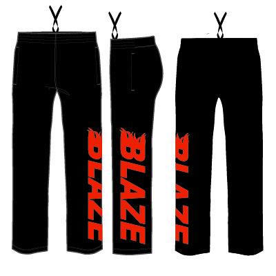 Hershey Blaze Sweatpants: Black