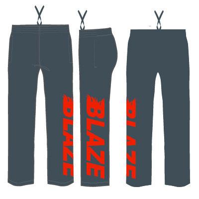 Hershey Blaze Sweatpants: Charcoal Grey