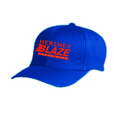 Hershey Blaze Flex Fit Hat: Royal Blue