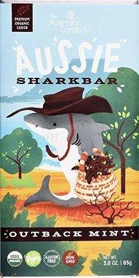 ORGANIC CAROB AUSSIE SHARKBAR: OUTBACK MINT!