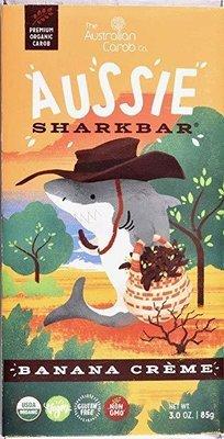 ORGANIC CAROB AUSSIE SHARKBAR: BANANA CREME!